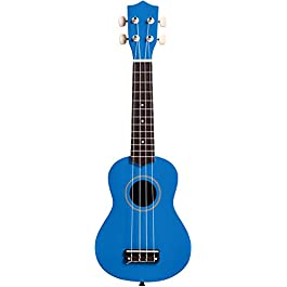 AmazonBasics Starter Ukulele Bundle with Strings, Tuner, Strap, and Bag – 21-Inch Basswood, Blue