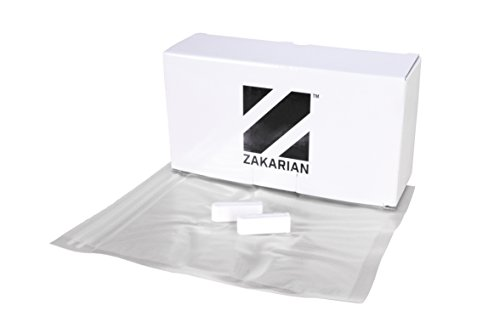Zakarian Pro For Home Sous Vide Zip Top Bags, Quart or Gallon, 25 Count by Chef Geoffrey Zakarian