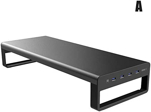 Image of Watkings Smart Base Aluminum Alloy Computer Laptop Base Stand with USB 3.0 Port