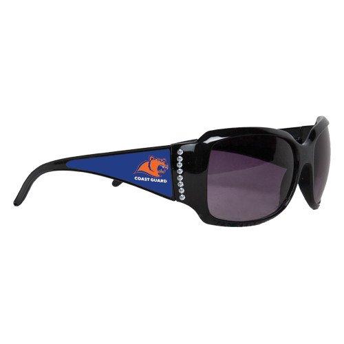 Coast Guard Ladies Black Rhinestone Sunglasses 'Primary - Coast Guard Sunglasses