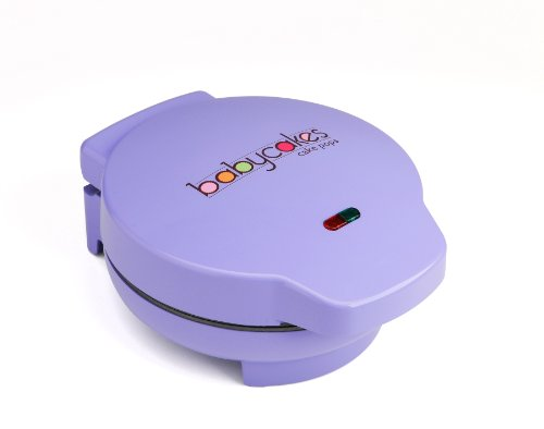 (Babycakes CP-12 Cake Pop Maker, 12 Cake Pop Capacity, Purple)