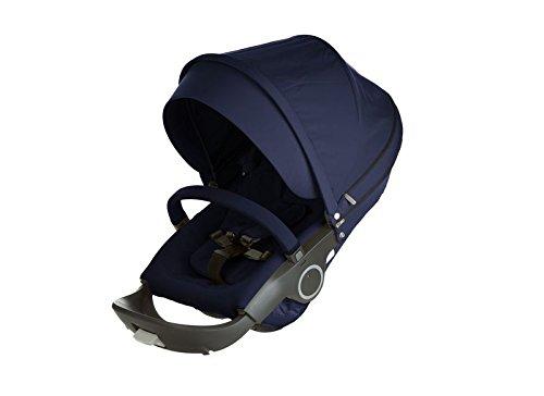 StokkeStroller Seat Textile Set - Deep Blue