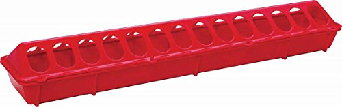 Plastic Flip Top Poultry Feeder