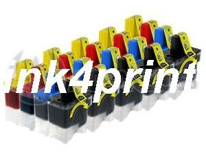 25pk 10/5/5/5 Lc41 Lc-41 Compatible Ink Cartridge Replacement for Brother Black Cyan Magenta Yellow