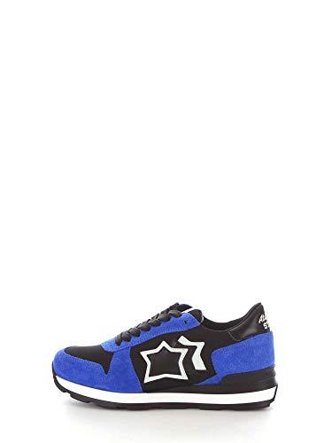 Blu Stars Atlantic Pelle nero Donna Gemmanf10n Sneakers OHww8qX