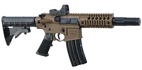 Bushmaster MPW Full Auto with Red dot (Black/FDE)