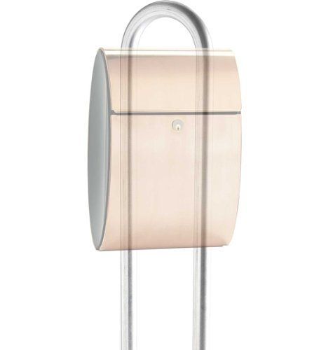 (Qualarc STD-1007-GV Allux Series Galvanized Mailbox Stand Post, Silver by Qualarc)