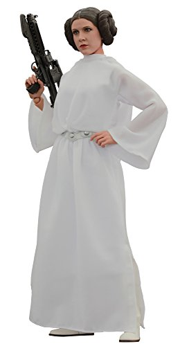 Princess Leia Organa Costume (Star Wars HT902490 Hot Toys Princess Leia 1/6 Scale Collectible Figure)