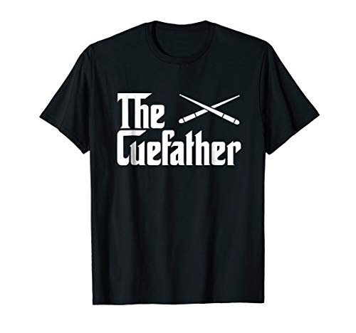The Cue Father Funny Pool Billiards Player T-Shirt Gift