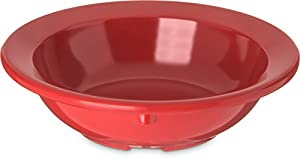 Carlisle 4353205 Fruit Bowls, Set of 48 3-1/2-Ounce, Melamine, Red