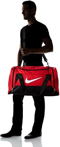ofertas exclusivas mejor precio para genuino mejor calificado Nike Brasilia 6 Duffel Medium Gym Red/Black/White Size Medium ...
