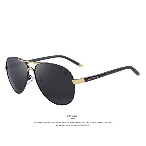 97816ff7dd TIANLIANG04 hombres clásico de aluminio marca gafas polarizadas HD Gafas de  conducción tonos de lujo UV400