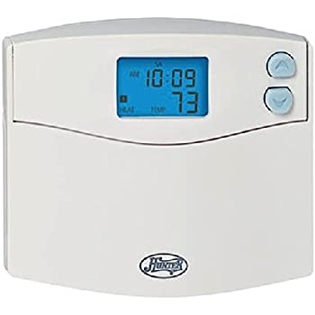 hunter home comfort 44378 7 day digital programmable thermostat hunter 44157 5 2 day digital programmable thermostat home thermostat ac heat