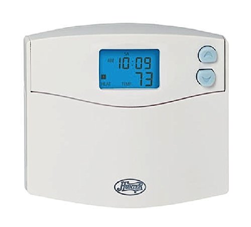 Hunter 44157 - 5/2-Day Digital Programmable Thermostat (Home Thermostat, AC, Heat)