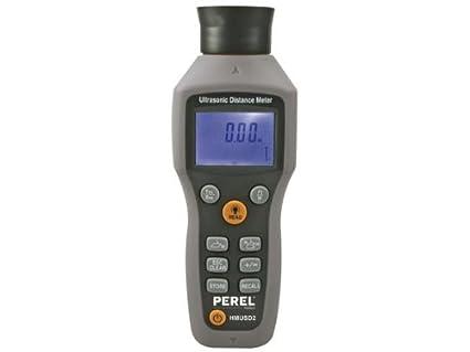 Laser Entfernungsmesser Ultraschall : Perel hmusd ultraschall entfernungsmesser mit laser amazon