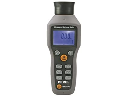Entfernungsmesser Laser Oder Ultraschall : Perel hmusd ultraschall entfernungsmesser mit laser amazon