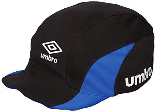 엄브로 JR 쥬니어 축구 모자 UV 키즈 F (약 52cm) 블랙/블루/네이비/화이트 × 러버 핑크