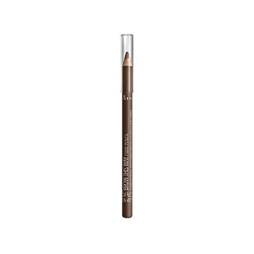 RIMMEL LONDON Brow This Way Fibre Pencil - Medium Brown