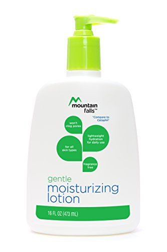 Mountain Falls Gentle Moisturizing Lotion for All Skin Types, Fragrance Free, Pump Bottle, Compare to Cetaphil, 16 Fluid Ounce