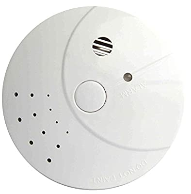2 Pack Combination Smoke Carbon Monoxide Detector Battery Operated, Travel Portable Photoelectric Fire&Co Alarm Home, Kitchen