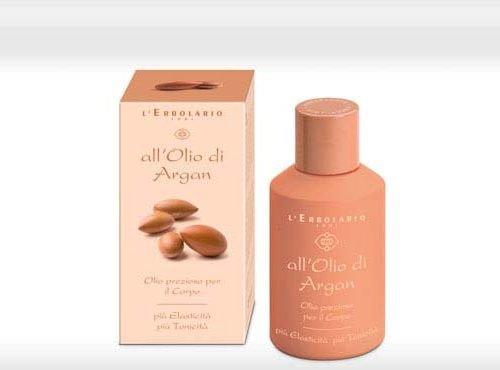 L'Erbolario Oglio di Argan - Argan oil Bodyoil 125ml With Argan Oil Precious Body Oil 4.3 Fl Oz More Elasticity More Tone