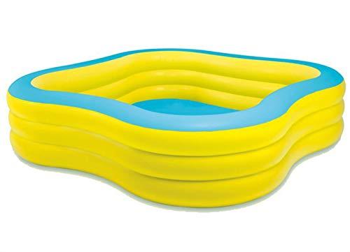 Amazon.com: Thole - Piscina hinchable con 3 anillos de olas ...