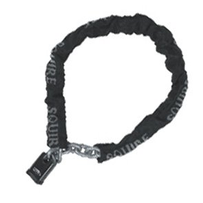 Length 1200 mm x 10 mm Link Henry Squire High Security G Hardened Alloy Steel Chain with Black Sleeve Diameter