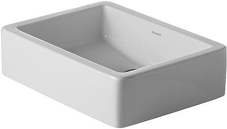 duravit vero 1958inch washbasin white