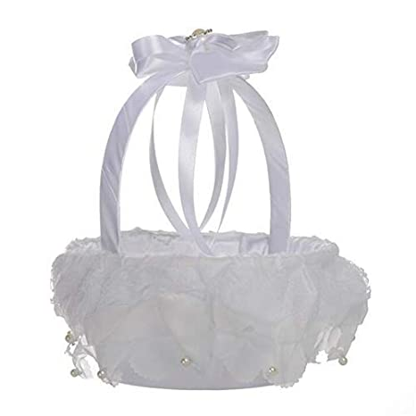 Amazon Western Style Wedding Flower Basketflower Girl Basket