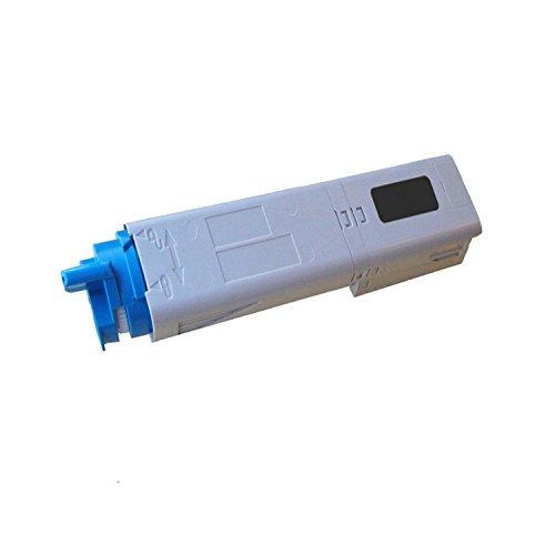 1-Pack Okidata Remanufactured Color Toner Cartridge 43459304 for C3400n, C3530n MFP, C3600n Series (1 (C3400n Black Toner)