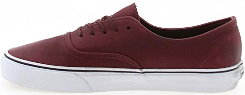Vans AUTHENTIC DECON CA California Collection distressed leather burgundy, Groesse:44.0