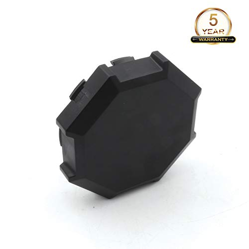 CPOWACE Black Hub Caps Wheel Center Caps For Polaris RZR 900 100 XP 4 1522216-655 (1pc) by CPOWACE