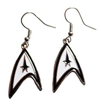 Star Trek Original Series COMMAND Symbol French Wire EARRINGS -