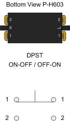 Hammond Organ Run Circuit Toggle Switch