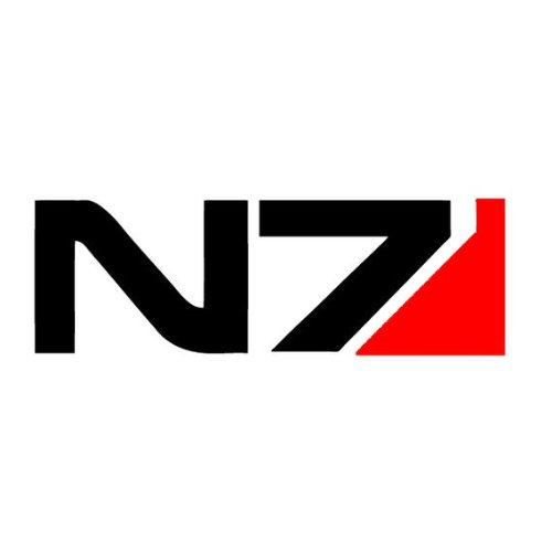 Price comparison product image N7 Mass Effect - Apple Macbook Laptop Decal