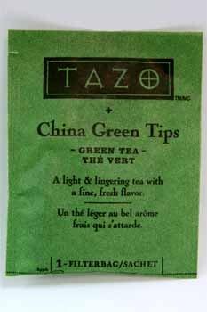 Tazo Tea Bags, China Green Tips, 24/Box by TAZO