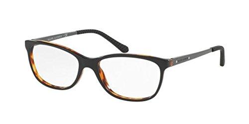 Ralph Lauren RL6135 Eyeglass Frames 5260-52 - 52mm Lens Diameter Black / Havana by RALPH LAUREN
