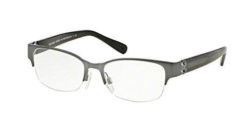 Michael Kors TABITHA VI MK7006 Eyeglass Frames 1075-52 - Satin Gunmetal/black - Glasses Frames Mk