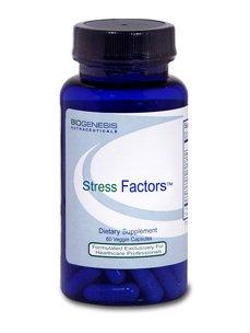 BioGenesis Nutraceuticals Stress Factors - 60 Capsules