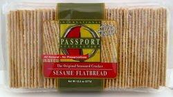PASSPORT FOODS Flatbread Sesame, 13.3 OZ