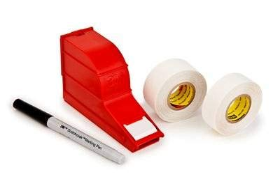 - 3M(TM) Scotchcode(TM) SLW Wire Marker Write-On Dispenser, Wire O.D. 0.23 to 1.32 Inches [PRICE is per EACH]