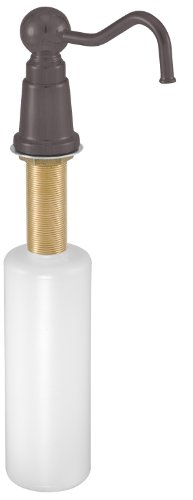 Westbrass Country Style Kitchen Sink Soap/Lotion Dispenser, Oil Rubbed Bronze, D2175-12