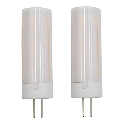 Dayker LED Flame Effect Fire Light Bulb G4 AC/DC 12V Creative Flickering Decoration Lighting for Christmas Party Halloween Holiday