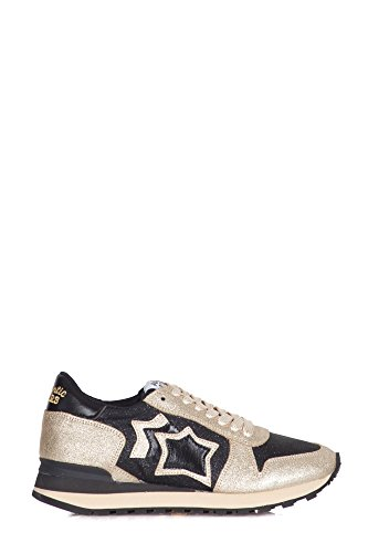 Nero Nchnynbnn Donne Sneakers Alhena Platino Atlantic Platino Stelle Nero qPUX0wwx
