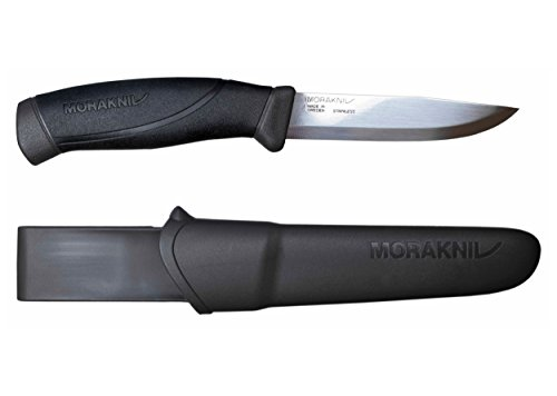 Morakniv Companion Fixed Blade Outdoor Knife with Sandvik St