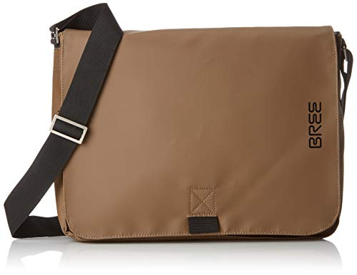 BREE Collection Punch 49, Clay, Messenger S19, Unisex Adults' Cross-Body Bag brown, 8x28x38 cm (B x H T) (Bree Punch)