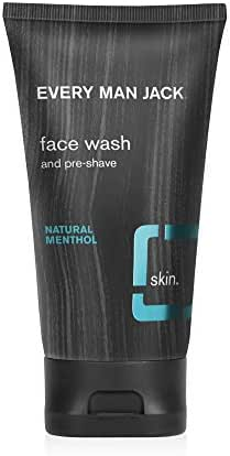 Facial Cleanser: Every Man Jack Face Wash & Pre-Shave