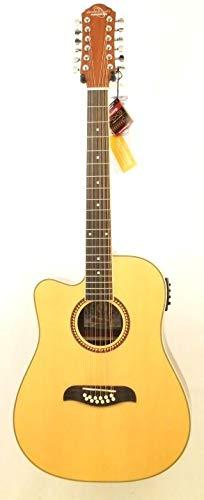 buy oscar schmidt by washburn left hand od312ce 12 string acoustic electric guitar natural. Black Bedroom Furniture Sets. Home Design Ideas
