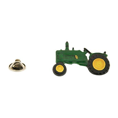 Model 3020 Tractor Pin ~ Hand Painted ~ Lapel Pin ~ Sarah's Treats & Treasures