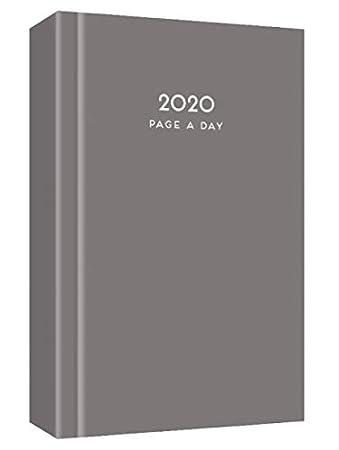 MantraRaj - Agenda de 2020, tamaño A5, diseño de página al día, para oficina, hogar, viajes, organización, citas (idioma español no garantizado), ...